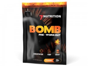 7NUTRITION BOMB PRE-WORKOUT 20G