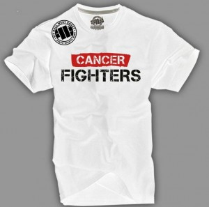 CANCER FIGHTERS T-SHIRT MEN WHITE